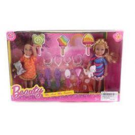 Игровой набор Shantou Gepai набор кукол 12 см с аксессуарами KL026-3