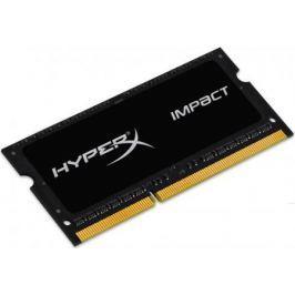 Оперативная память для ноутбуков SO-DDR3L 4Gb PC12800 1600MHz Kingston CL9 HX316LS9IB/4 HyperX Impact Black Series