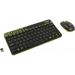 Комплект Logitech MK240 черный USB 920-008213