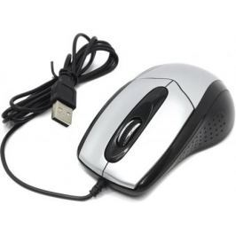 Мышь проводная CBR CM-101 серебристый USB