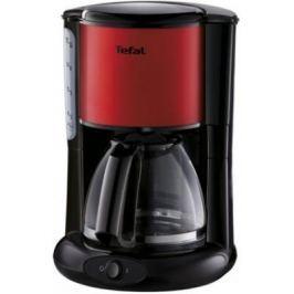 Кофеварка Tefal CM361D38 1000 Вт черно-красный