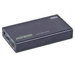 Конвертер EnerGenie RCA/S-video –> HDMI DSC-SVIDEO-HDMI для перекодирования RCA композитного сигнала (1видео, 2 аудио)/S-Video в HDMI сигнал