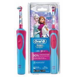 Зубная щётка Braun Oral-B Frozen Vitality Kids голубой