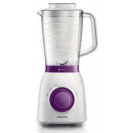 Блендер стационарный Philips HR2163/00 600Вт белый фиолетовый