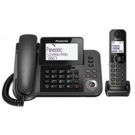 Радиотелефон DECT Panasonic KX-TGF320RUM черный