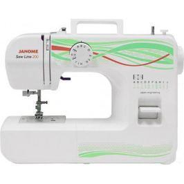 Швейная машина Janome Sew Line 200 белый
