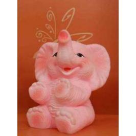 Резиновая игрушка для ванны Огонек Слон Бубо С-665 18 см С-1157