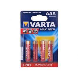 Батарейки Varta Max Tech AAA 4 шт