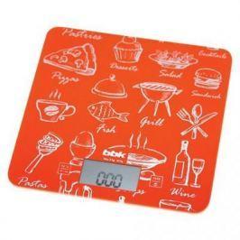 Весы кухонные BBK KS108G оранжевый