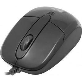 Мышь проводная DEFENDER Optimum MS-130 чёрный USB 52130