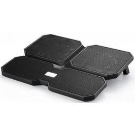 """Подставка для ноутбука 15.6"""" Deepcool MULTI CORE X6 380x295x24mm 2xUSB 900g Fan-control 24dB черный"""