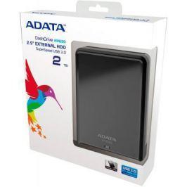 """Внешний жесткий диск 2.5"""" USB3.0 2Tb A-Data AHV620-2TU3-CBK черный"""