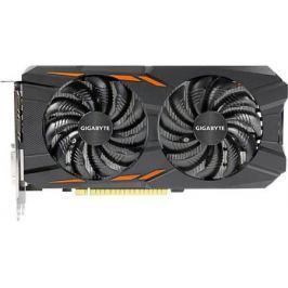 Видеокарта 4096Mb Gigabyte GeForce GTX1050 Ti PCI-E 128bit GDDR5 DVI HDMI DP HDCP GV-N105TWF2OC-4GD Retail