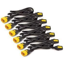 Кабель APC Power Cord Kit Locking C13 to C14 1.2м AP8704S-WW