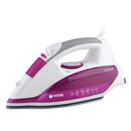 Утюг Vitek VT-1262 PK 2400Вт розовый белый VT-1262(PK)