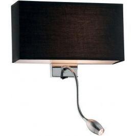 Настенный светильник Ideal Lux Hotel AP2 Nero