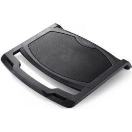 """Подставка для ноутбука 15.6"""" Deepcool N400 340x308x50mm USB 460g 21dB черный"""