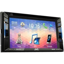 "Автомагнитола JVC KW-V230BT 6.2"" USB MP3 DVD CD FM 2DIN 4x50Вт черный"