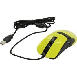 Мышь проводная Oklick 865G жёлтый USB