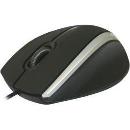 Мышь проводная DEFENDER MM-340 Black/Grey чёрный серый USB 52340