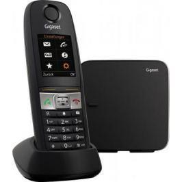 Р/Телефон Dect Gigaset E630 черный IP65 (пылевлагозащищенный, ударопрочный)