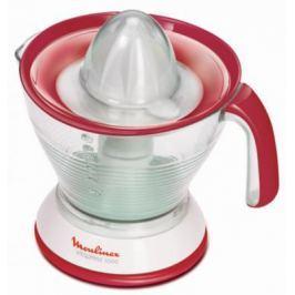 Соковыжималка Moulinex PC302B10 25 Вт пластик белый красный