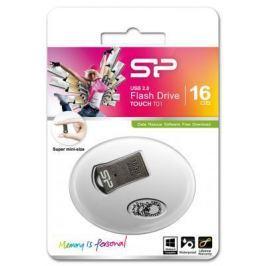 Внешний накопитель 16GB USB Drive <USB 2.0> Silicon Power T01 Black SP016GBUF2T01V1K