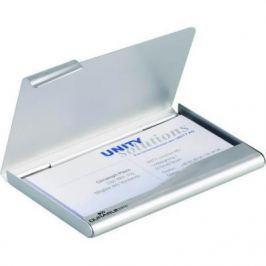 Визитница Durable BUSINESS CARD BOX 20 шт серебристый 2415-23