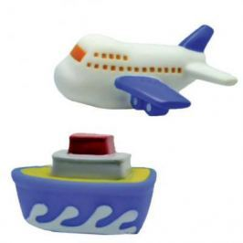 """Набор игрушек для ванны Жирафики """"Самолёт и пароход"""" 681265"""