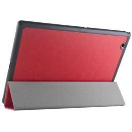 """Чехол IT BAGGAGE для планшета SONY Xperia TM Tablet Z4 10"""" ультратонкий hard-case искус. кожа красный ITSYZ4-3"""