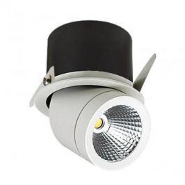 Встраиваемый светодиодный светильник Lucia Tucci Pipe 424.1-12W-WT