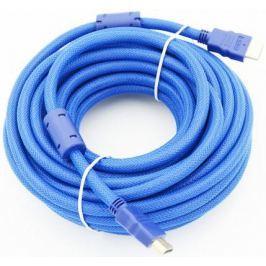 Кабель HDMI 1.8м Gembird Ver.1.4 Blue jack ферритовые кольца позолоченные контакты