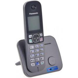 Радиотелефон DECT Panasonic KX-TG6811RUM серебристый