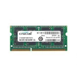 Оперативная память SO-DIMM DDR3 Crucial 8Gb (pc-12800) 1600MHz <Retail> (CT102464BF160B)