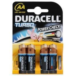 Батарейки Duracell Turbo MAX LR6-4BL AA 4 шт