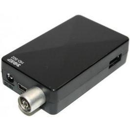 Тюнер цифровой DVB-T2 Сигнал Эфир HD-502 черный