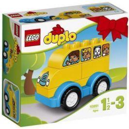 Конструктор LEGO Мой первый автобус 6 элементов 10851