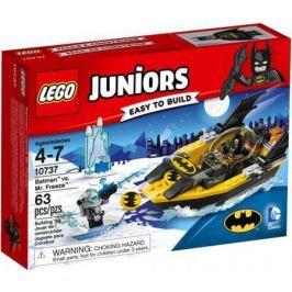 Конструктор LEGO Джуниорс Бэтмен против Мистера Фриза 63 элемента 10737