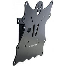 """Кронштейн Kromax CASPER-201 черный LED/LCD 20-43"""" 1 степень свободы наклон +5°-15° 50 мм от стены VESA 200x200 max 30 кг"""