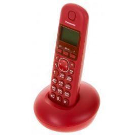 Радиотелефон DECT Panasonic KX-TGB210RUR красный