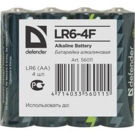 Батарейки Defender LR6-4F AA 4 шт 56011