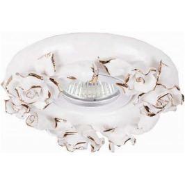 Встраиваемый светильник Donolux N1629-White+gold