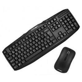 Комплект Crown CMMK-952W черный USB CM000001477