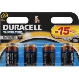 Батарейки Duracell Turbo Мах LR6-8BL AA 8 шт