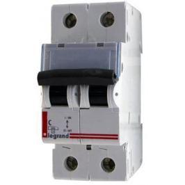 Автоматический выключатель Legrand TX3 6000 тип C 2П 10А 404040