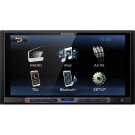"""Автомагнитола Kenwood DMX100 6.8"""" 800х480 USB MP3 FM 2DIN 4x50Вт черный"""