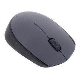 Мышь беспроводная Logitech M170 чёрный серый USB 910-004642