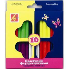 Пластилин Луч 12С766-08 10 цветов