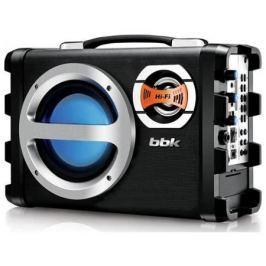 Магнитола BBK BS05BT черно-серебристый