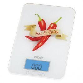 Весы кухонные BBK KS106G белый красный